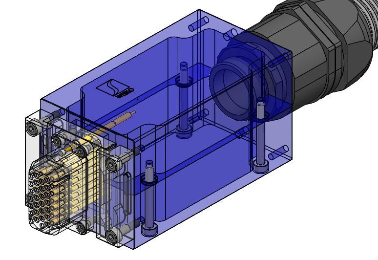 Prüfadapter zur elektrischen Prüfung mit Rastermaß unter 1mm