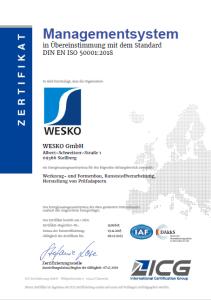 Zertifikat-ISO-50001
